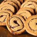Chocolate Peanut Butter Pinwheels