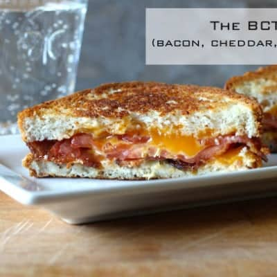 Gluten-Free BCT (Bacon, Cheddar, and Tomato Sandwich)