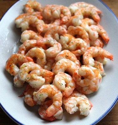 15 Minute Roasted Garlic Shrimp