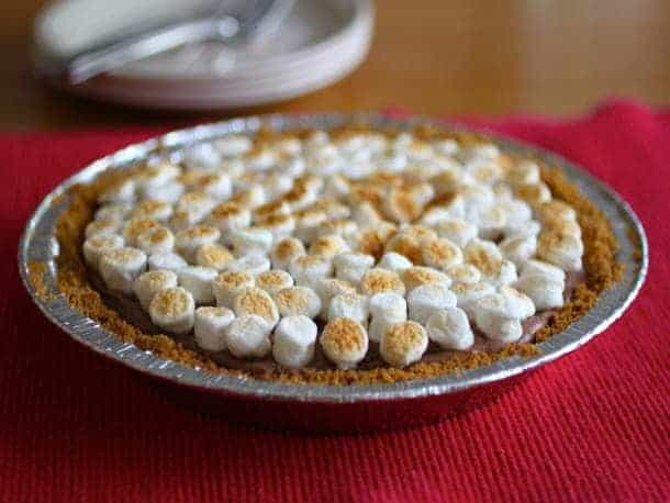 S'more Pie |GlutenFreeBaking.com