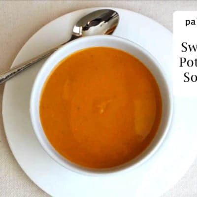 Spicy Paleo Sweet Potato Soup