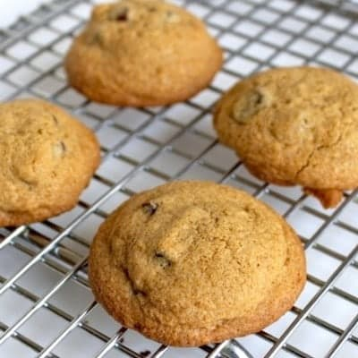 Gluten-Free Chocolate Chip Cookies for Two