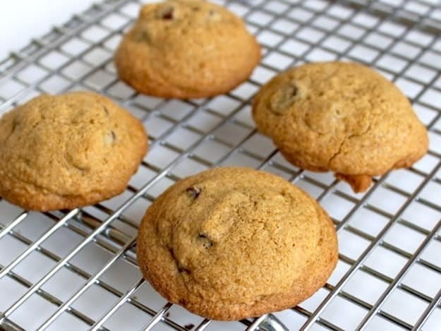 Gluten-Free Chocolate Chip Cookies for Two | Recipe Makes Only 4 Cookies!