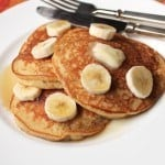 Gluten-Free Banana Whole Grain Pancakes