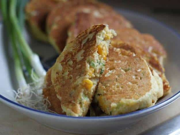 Gluten-Free Corn-Scallion Pancakes or Pancakes with Dinner is the Best ...