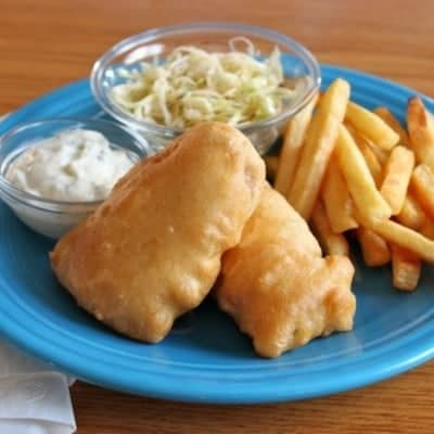 Gluten-Free Beer Battered Fish Fry Recipe