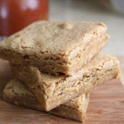 Gluten-Free Maple Blondies