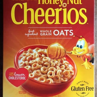 Review: Gluten-Free Honey Nut Cheerios