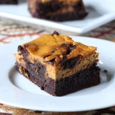 Mix it Up: Pumpkin Cheesecake Brownies