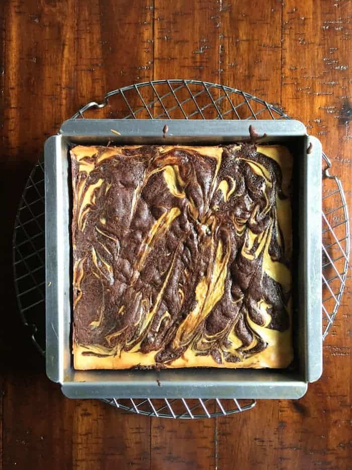 Mix it Up: Gluten-Free Cheesecake Brownies