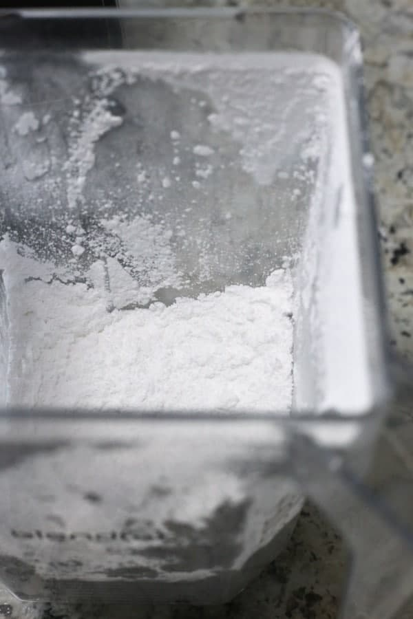 Corn-Free Powdered Sugar. Recipe and step-by-step photos.