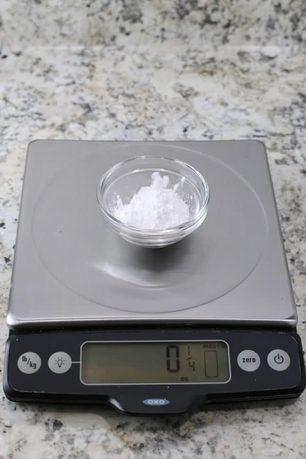 Corn-Free Powdered Sugar is easy to make and works great in recipes.