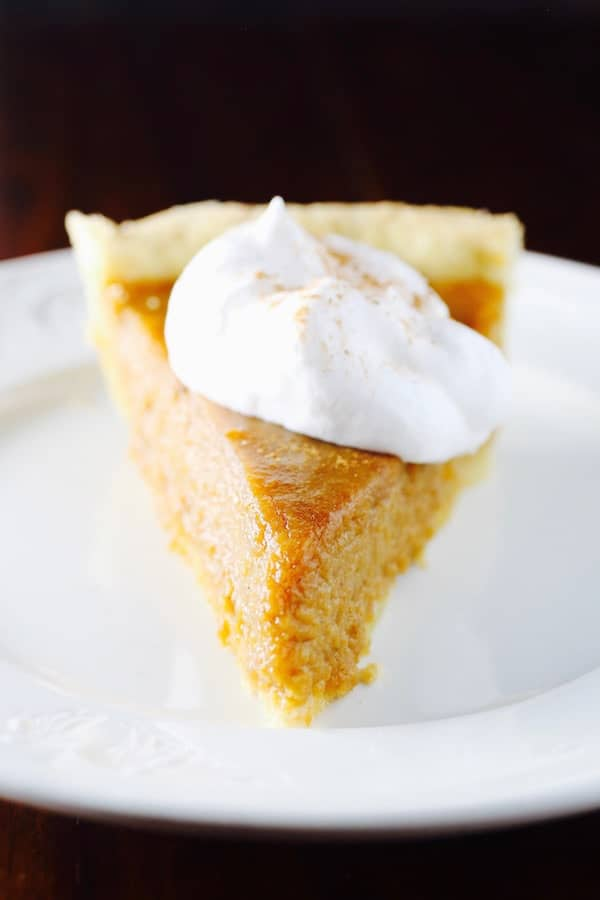 Gluten-Free Sweet Potato Pie is a classic fall and holiday pie.