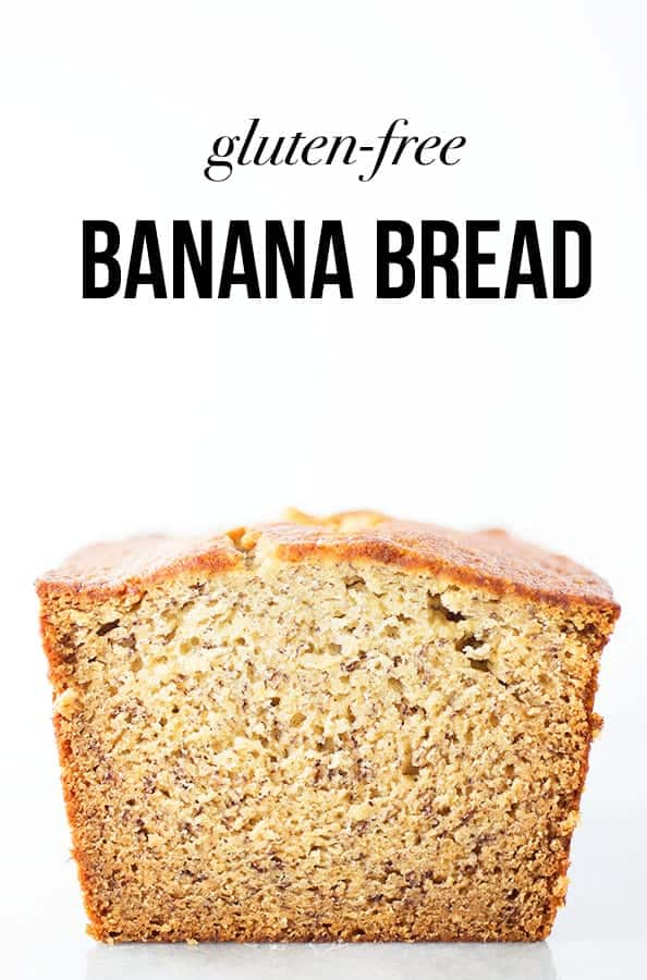 Gluten-Free Banana Bread Recipe. It's easy to make this moist and healthy recipe. It's the best banana bread you've ever made!