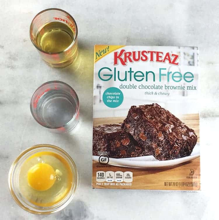 Krusteaz gluten free double chocolate brownie mix Review
